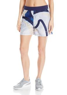 PUMA Women's X Careaux Shorts White Careaux AOP XS