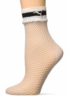 Puma Women's x SG Fishnet Low Crew Socks (1 Pair)