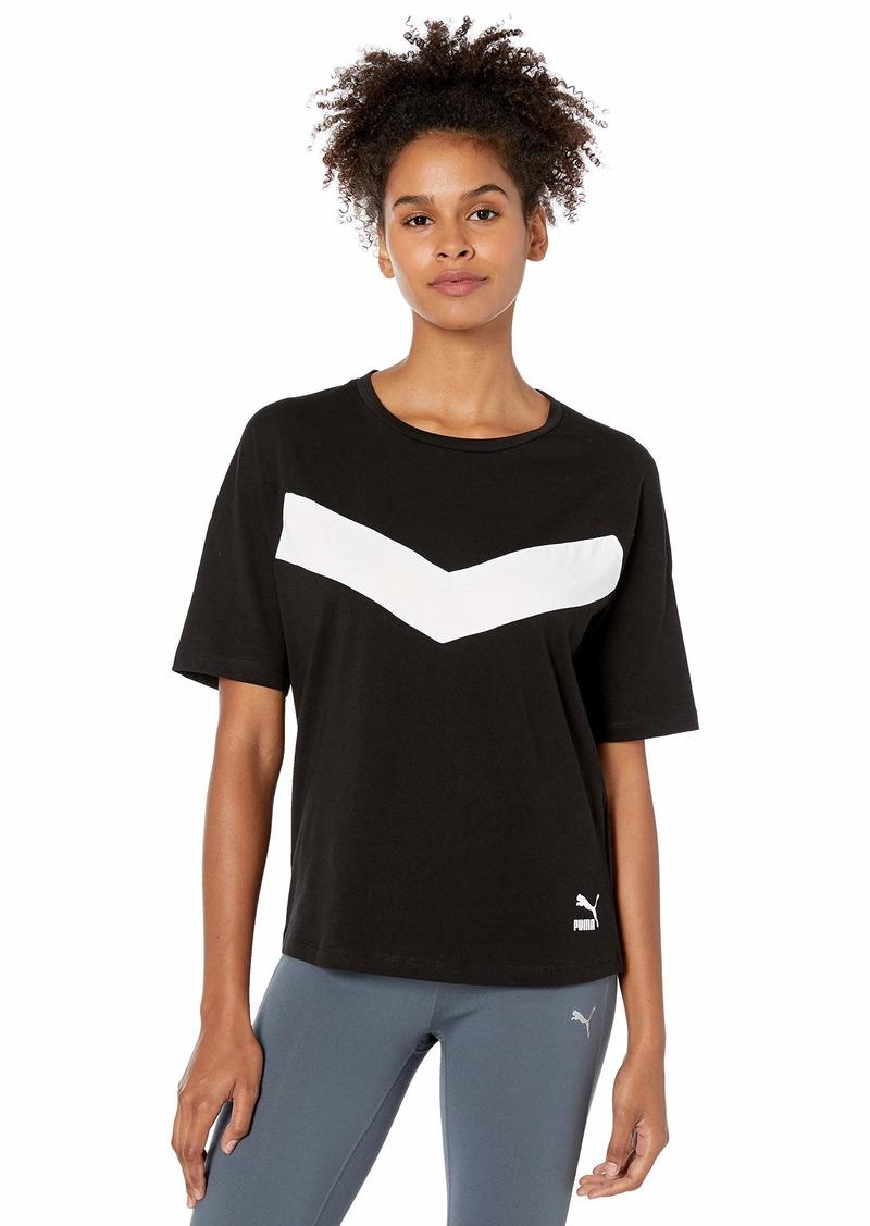PUMA Women's PUMA XTG Colorblock Tee Shirt puma Black XL