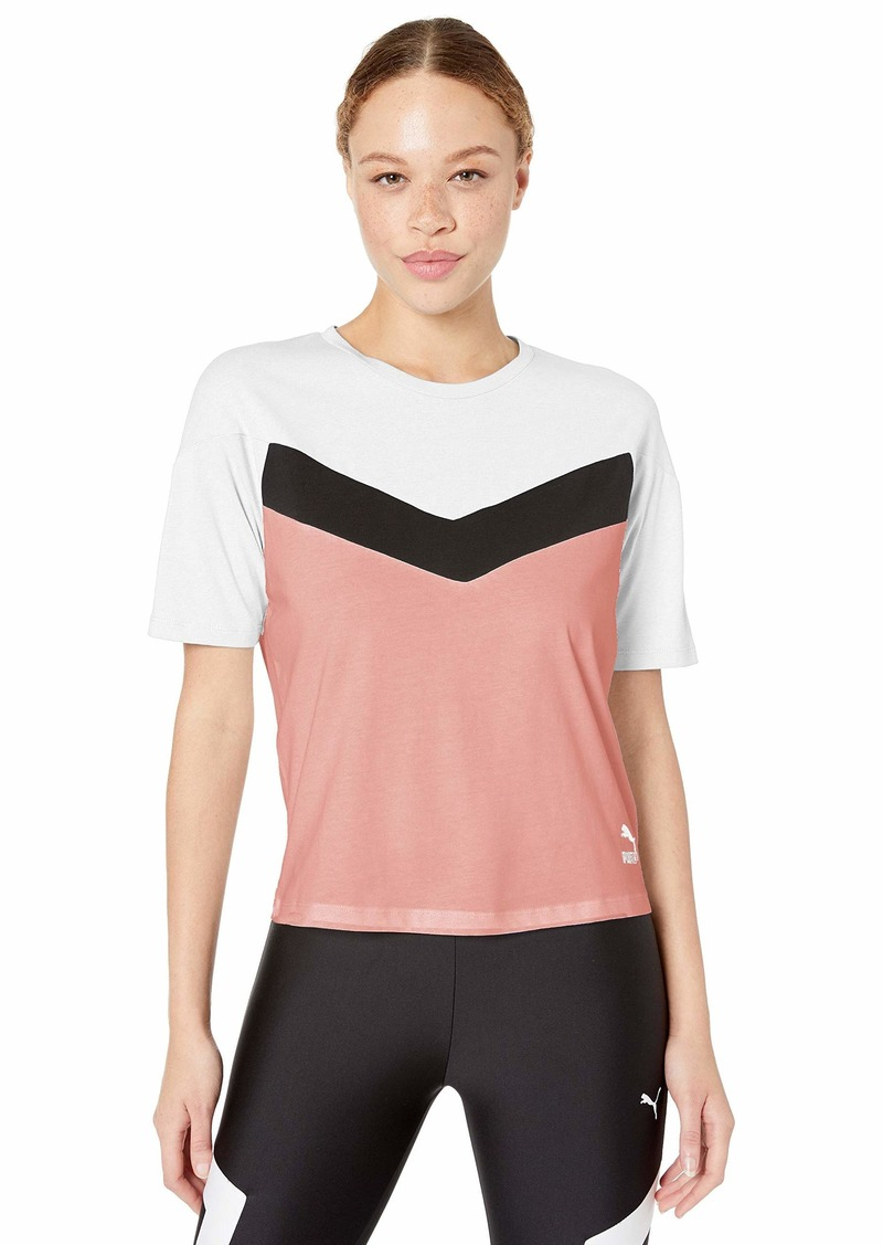 PUMA Women's XTG Colorblock Tee Shirt  S