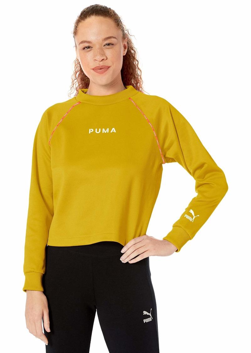 PUMA Women's XTG Crew Sweater  L