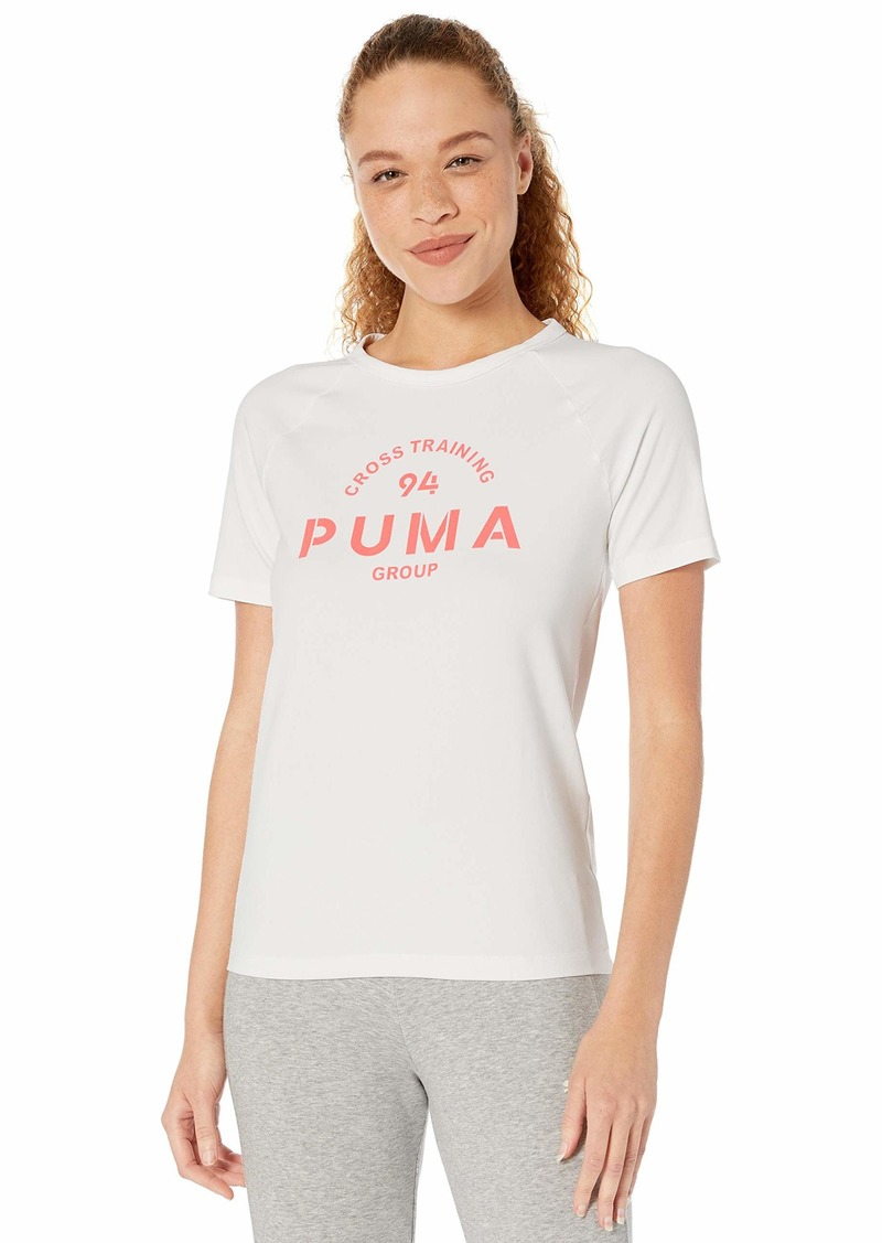 PUMA Women's XTG Graphic T-Shirt White M