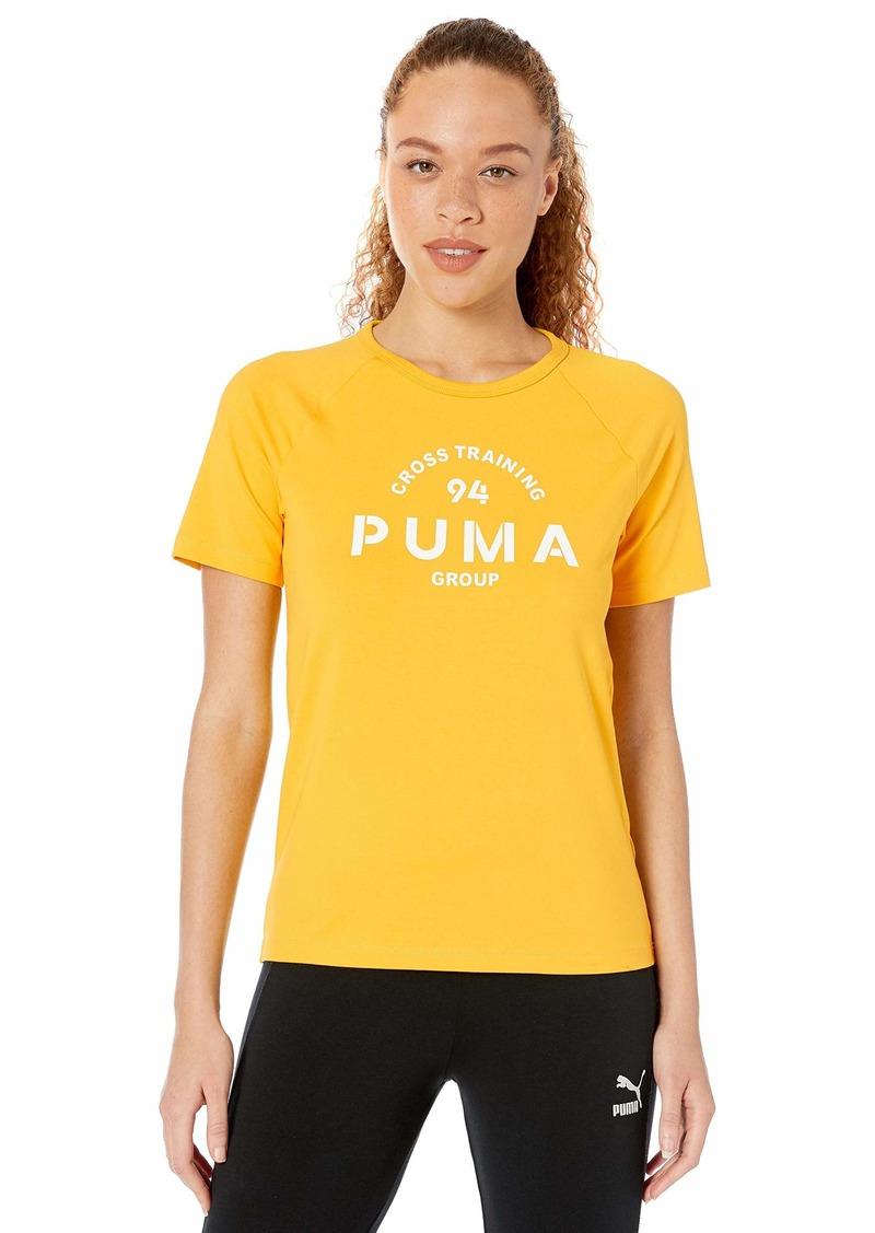 PUMA Women's XTG Graphic Top Shirt  XL
