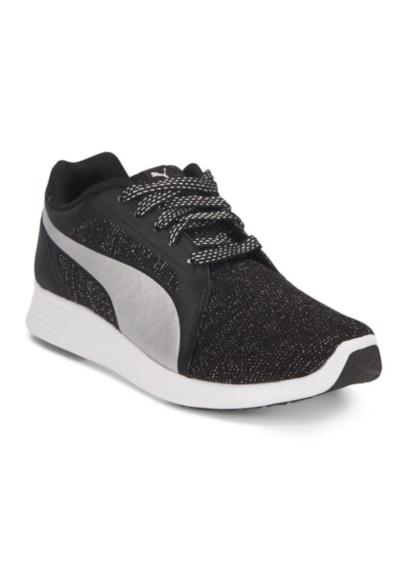 PUMA Woven Lace-Up Sneakers