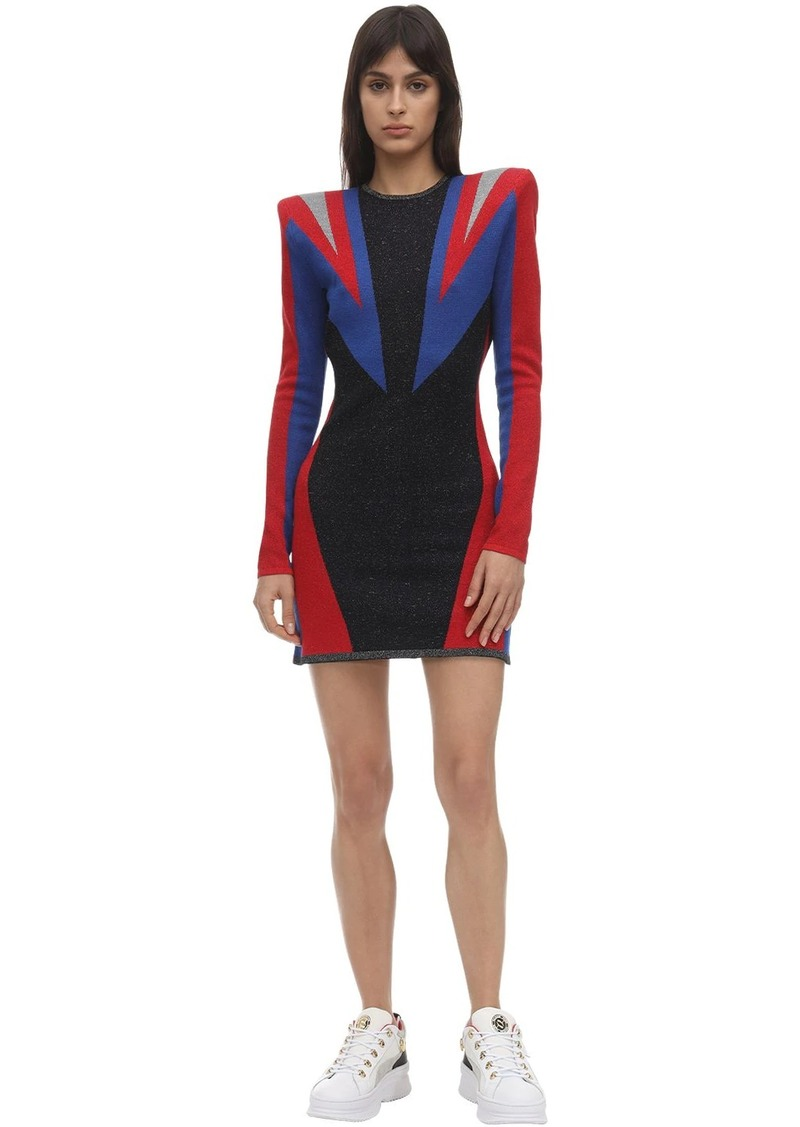 Puma X Balmain Jacquard Dress