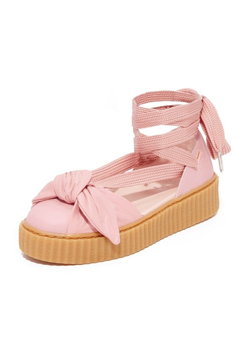 newest 3944c df3e5 FENTY x Bow Creeper Sandals
