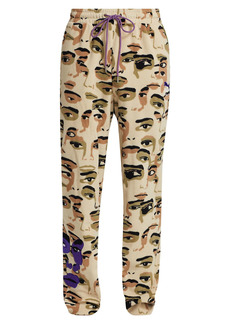 Puma x KidSuper Studios Printed Fleece Pants