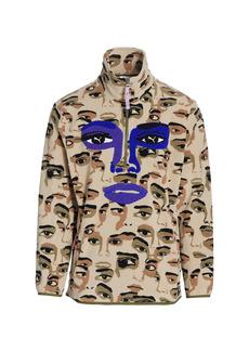 Puma x KidSuper Studios Printed Half-Zip Sweatshirt