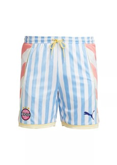 Puma x KidSuper Jersey Stripe Shorts