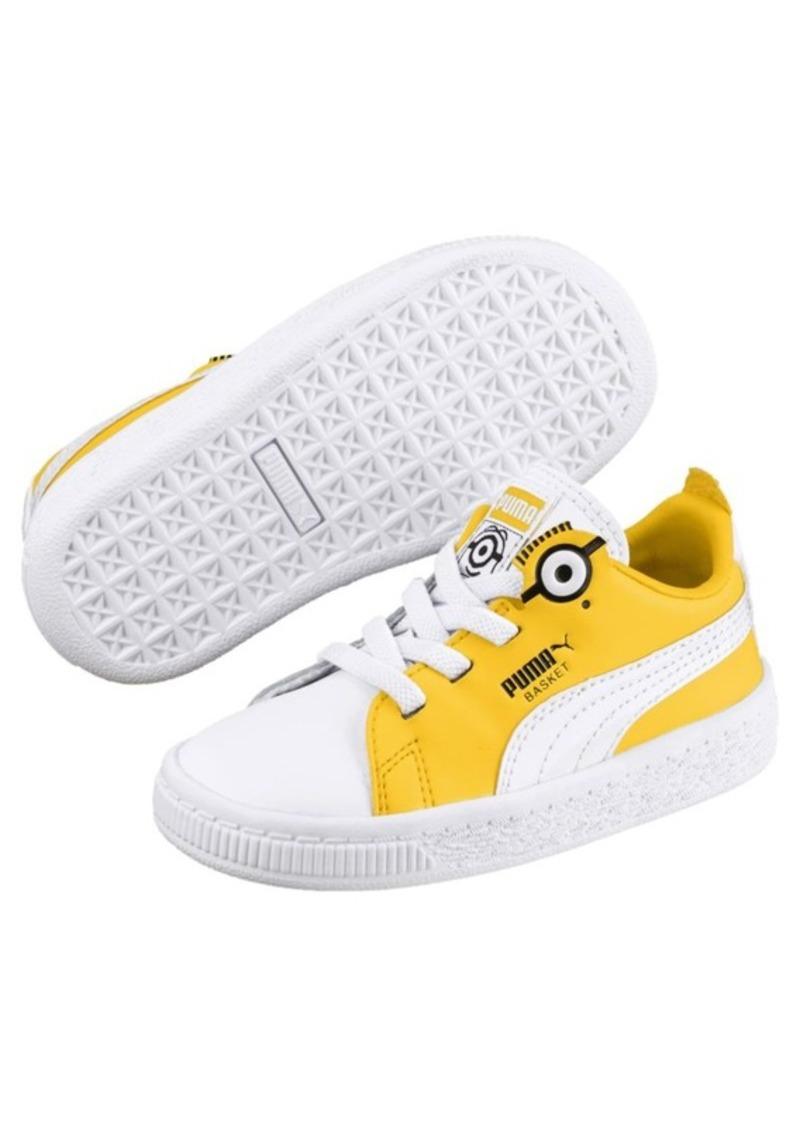 638096c5001 Puma PUMA x MINIONS Basket Sneakers