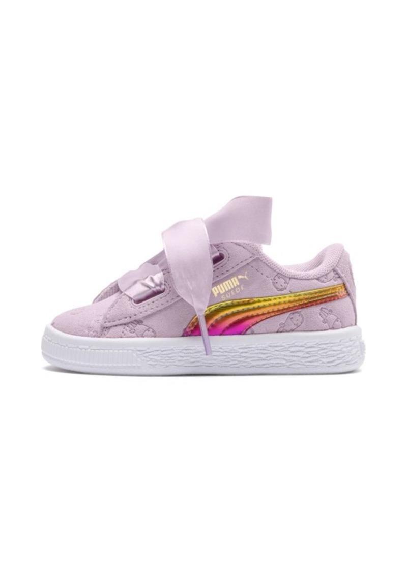 4d843a8d7de Puma PUMA x MINIONS Suede Heart Fluffy Baby Girls  Sneakers