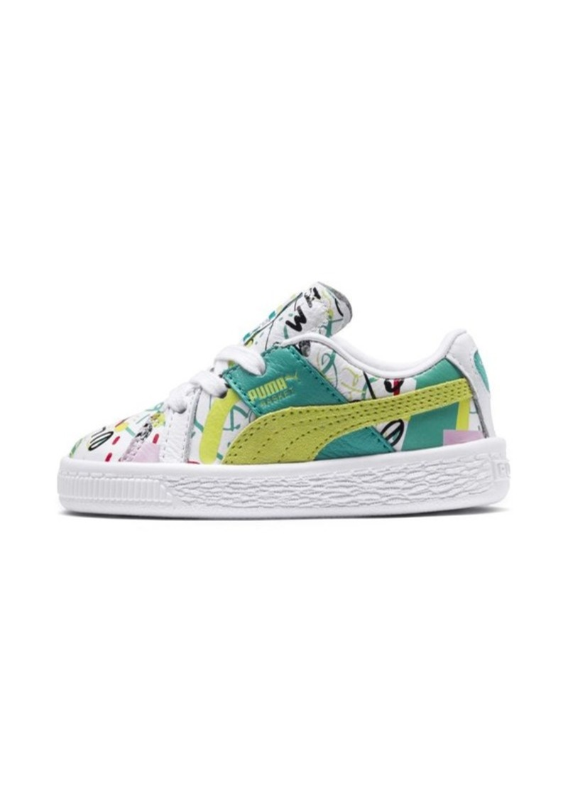 a9ffcfa45b0d Puma PUMA x Shantell Martin Basket Graphic Infant Sneakers