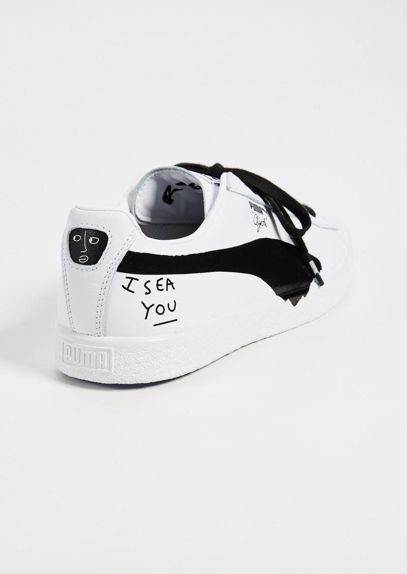 low priced 6231a 8b7db Puma PUMA x Shantell Martin Clyde Sneakers | Shoes
