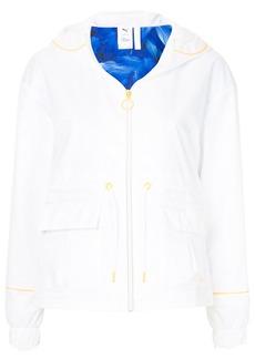 Puma X Sophia Webster contrast-trim hooded jacket - White