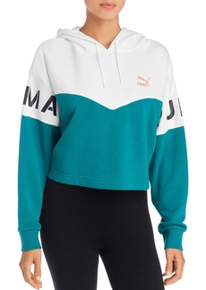 PUMA XTG Color-Block Hooded Sweatshirt