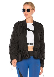 Puma Xtreme Frill Bomber in Black. - size L (also in XS,S,M)