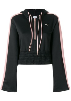 Puma zipped neck hoodie - Black