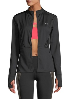 Puma PWRLUX Zip-Front Fitted Jacket