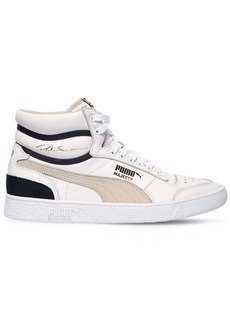 Puma Ralph Sampson High Og Leather Sneakers