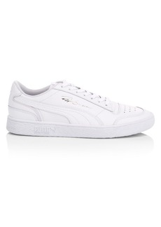 Puma Ralph Sampson Leather Low-Top Sneakers