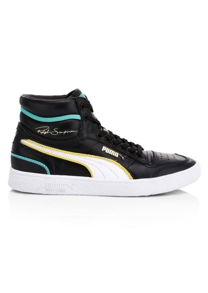 Puma Men's Ralph Sampson Mid Hoops Sneakers