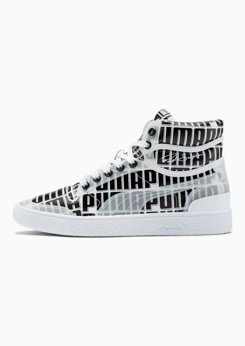 Puma Ralph Sampson Mid Logo Women's Sneakers
