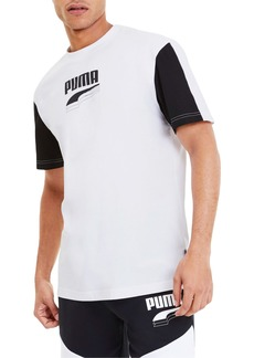 Puma Rebel Block Logo T-Shirt