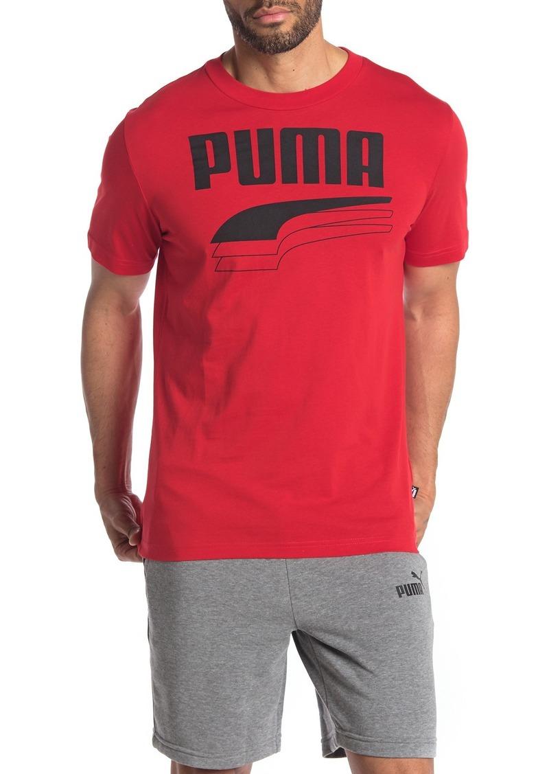 Puma Rebel Bold Brand Logo T-Shirt