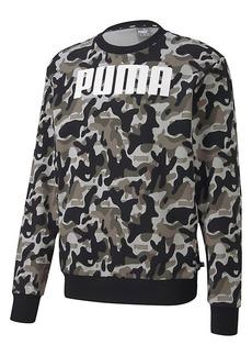 Puma Rebel Camo Logo Crewneck Sweatshirt