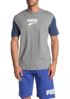 Puma Rebel Colorblock Logo T-Shirt