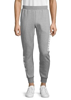 Puma Regular-Fit Cotton-Blend Jogger Pants