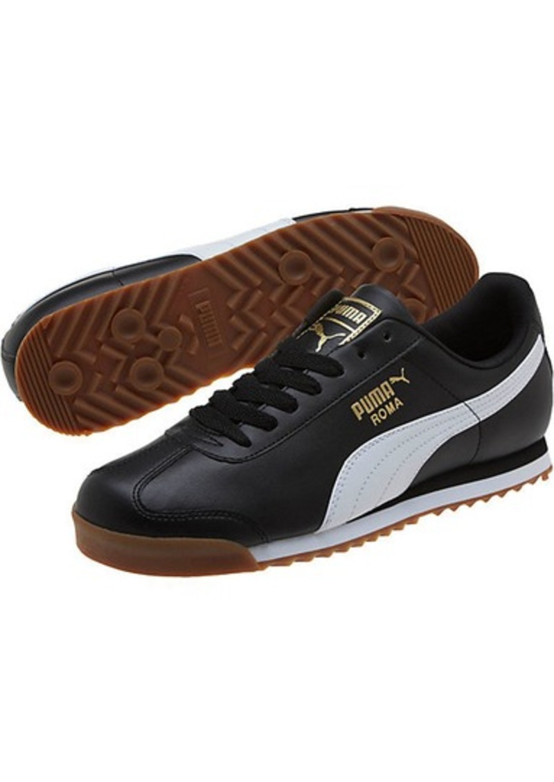 ba131095836 On Sale today! Puma Roma Basic Gold Men s Sneakers