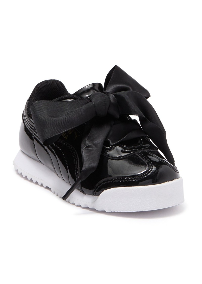 Puma Roma Heart Patent Sneaker (Toddler & Little Kid)
