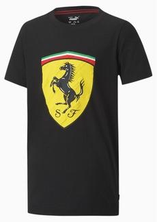 Puma Scuderia Ferrari Race Kids' Big Shield Tee