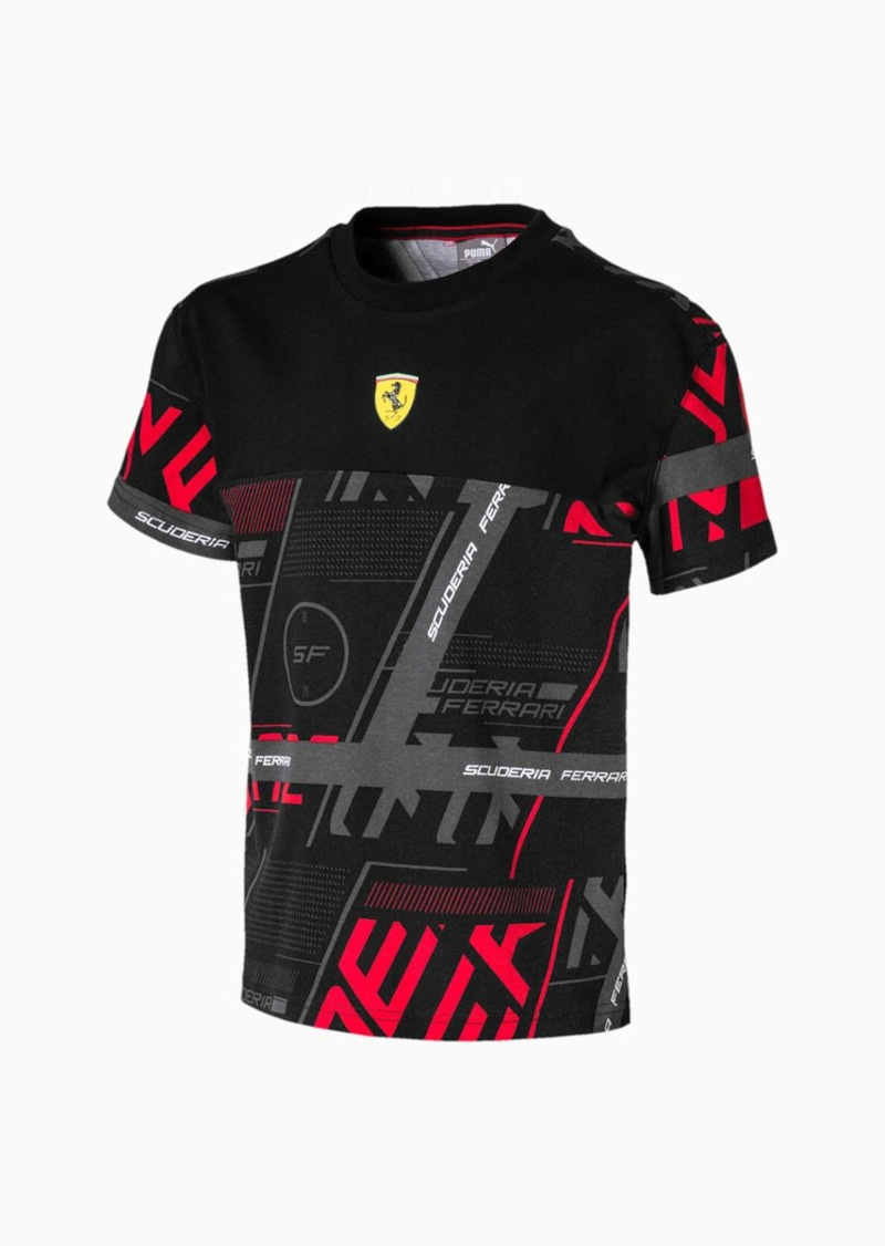 Puma Scuderia Ferrari Street Boys' Tee JR