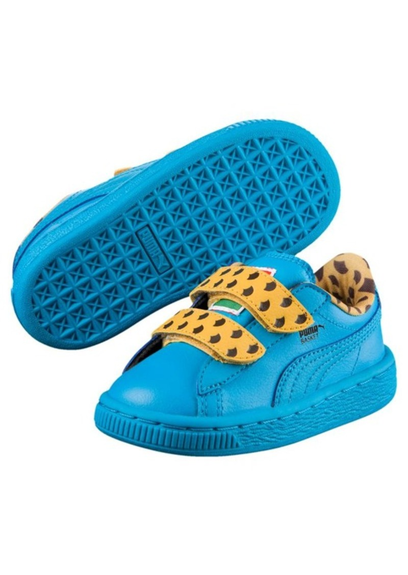 7b5e3fff Sesame Street® Cookie Monster Basket Mono Kids Sneakers