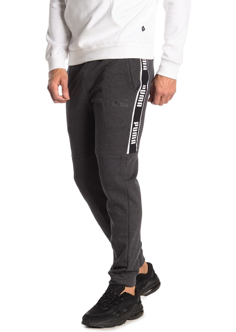 Puma Side Logo Stripe Joggers