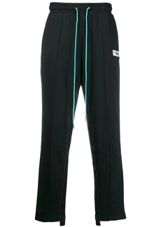 Puma side stripe track pants