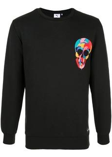 Puma skull print sweatshirt