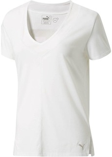 Puma Slouchy-V Mesh T-Shirt