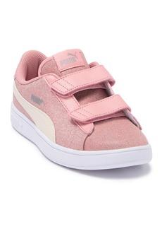 Puma Smash V2 Glitz Glam Sneaker (Toddler & Little Kid)