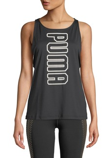 Puma Spark Vertical Logo-Graphic Active Tank