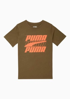 Puma Speed Boys' Graphic Tee JR