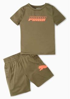 Puma Speed Performance Tee + Shorts Infant + Toddler Set
