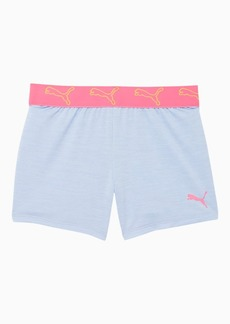 Puma Stay Bold Girls' Space Dyed Jacquard Waistband Shorts JR