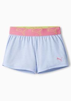 Puma Stay Bold Little Kids' Space Dyed Jacquard Waistband Shorts