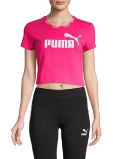 Puma Stretched Logo Cropped Top