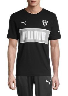 Puma Stripe Badge Logo Graphic T-Shirt