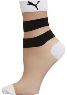 Puma Stripe Women's Low Crew Socks [1 Pair]
