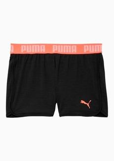 Puma Studio Girls' Jacquard Waistband Shorts JR
